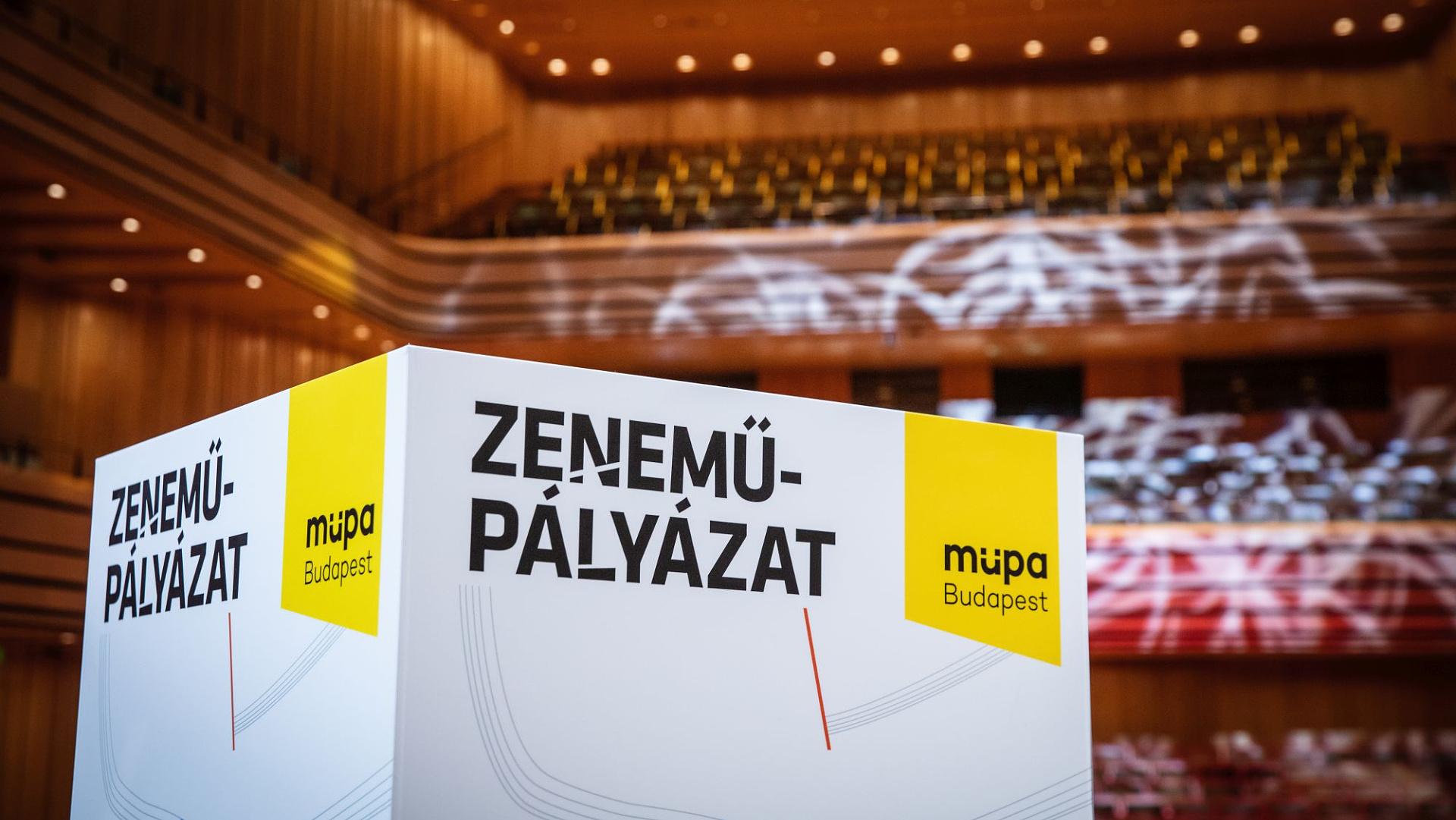 Több mint félszáz alkotást díjaztak a Müpa Zeneműpályázatán